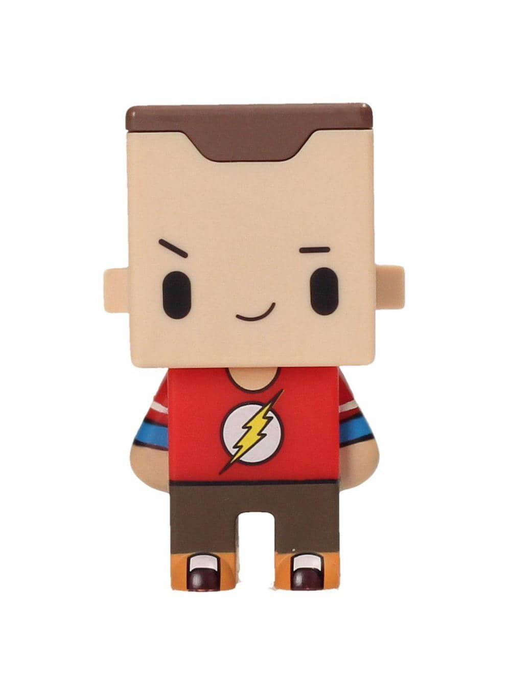 Photo du produit FIGURINE BIG BANG THEORY PIXEL SHELDON FLASH TEES 7CM