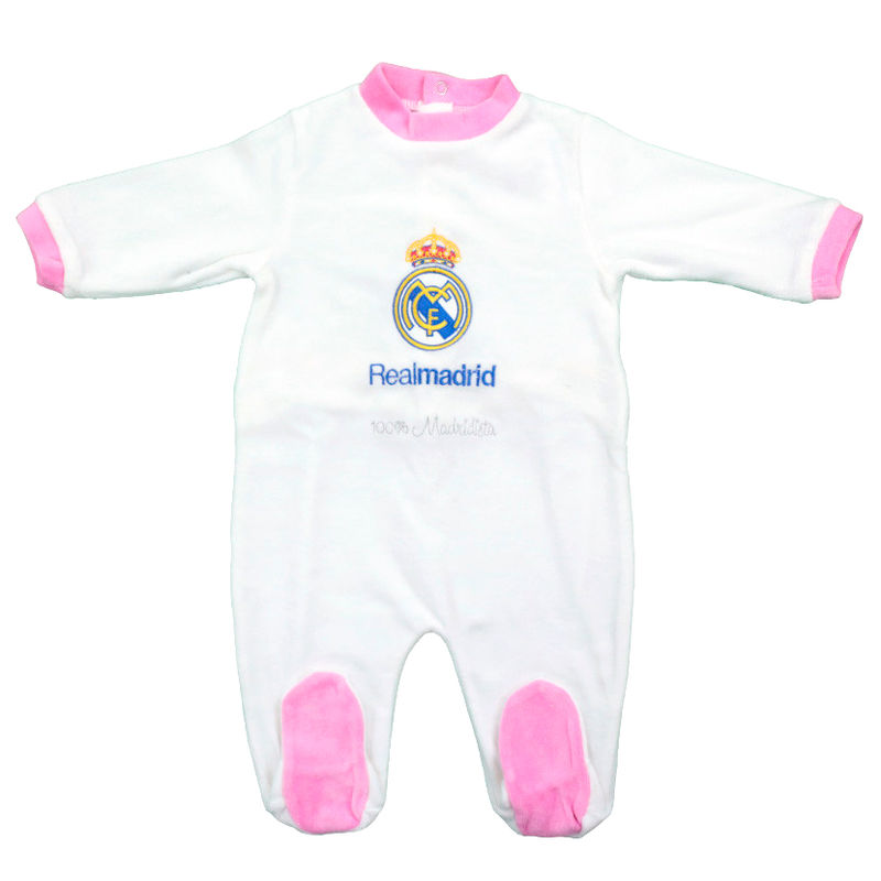 Photo du produit PYJAMA BÉBÉ REAL MADRID ROSE