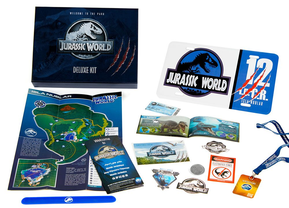 Photo du produit JURASSIC WORLD COFFRET CADEAU DELUXE WELCOME TO THE PARK