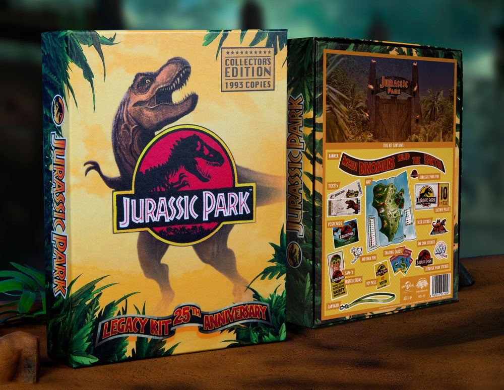 Photo du produit JURASSIC PARK COFFRET CADEAU LEGACY KIT 25TH ANNIVERSARY