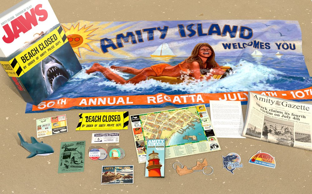 Photo du produit LES DENTS DE LA MER COFFRET CADEAU AMITY ISLAND SUMMER OF 75