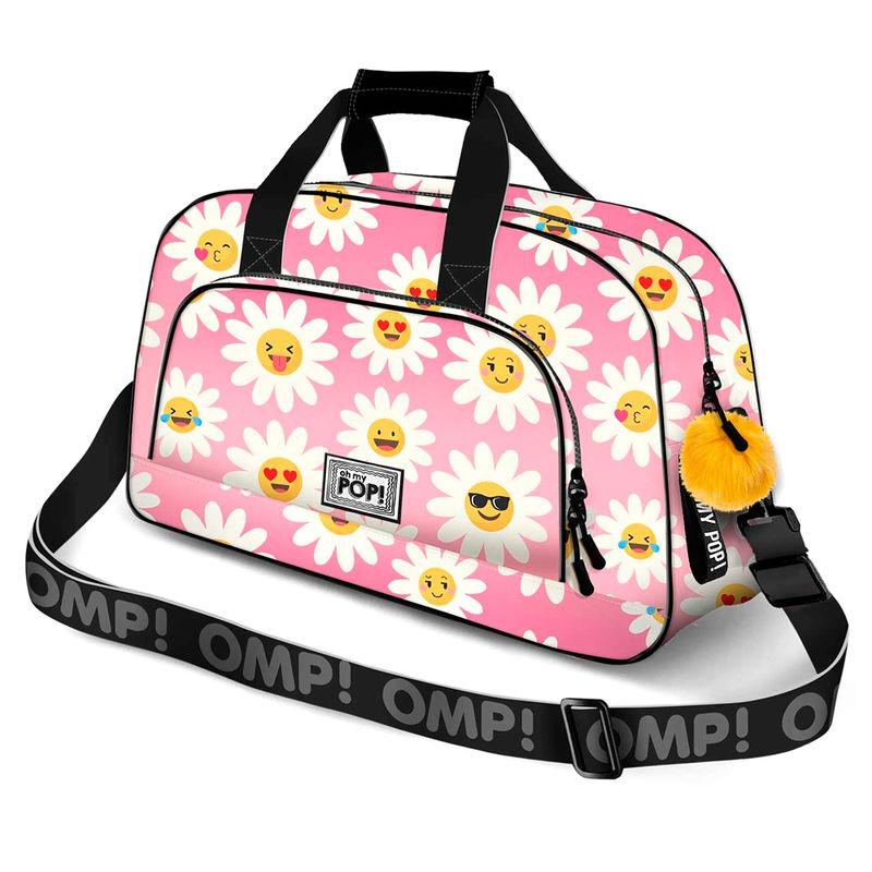 Photo du produit SAC DE SPORT / VOYAGE OH MY POP HAPPY FLOWER 45CM