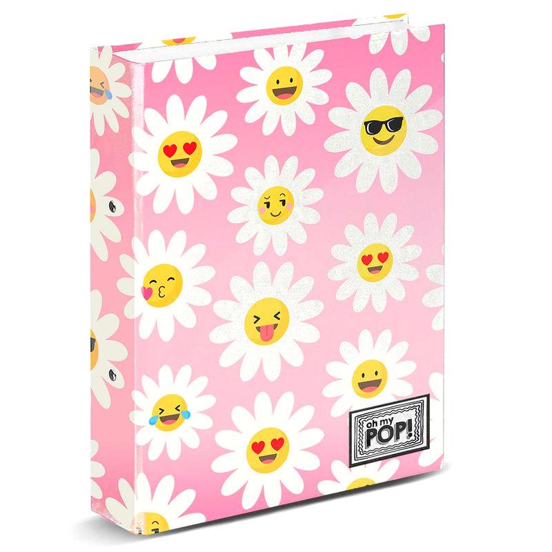 Photo du produit CLASSEUR A4 OH MY POP HAPPY FLOWER