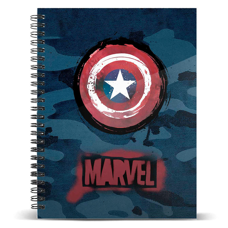 Photo du produit CARNET MARVEL CAPTAIN AMERICA A5