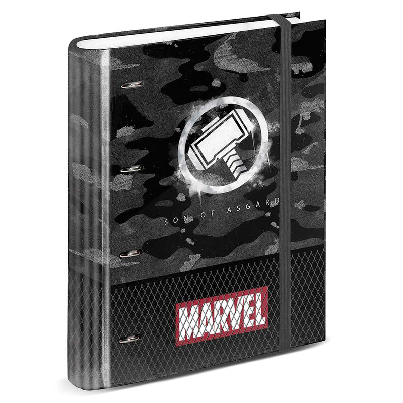 Photo du produit CLASSEUR A4 MARVEL THOR HAMMER
