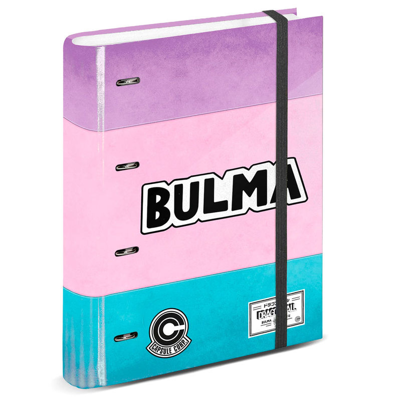 Photo du produit CLASSEUR A4 BULMA DRAGON BALL