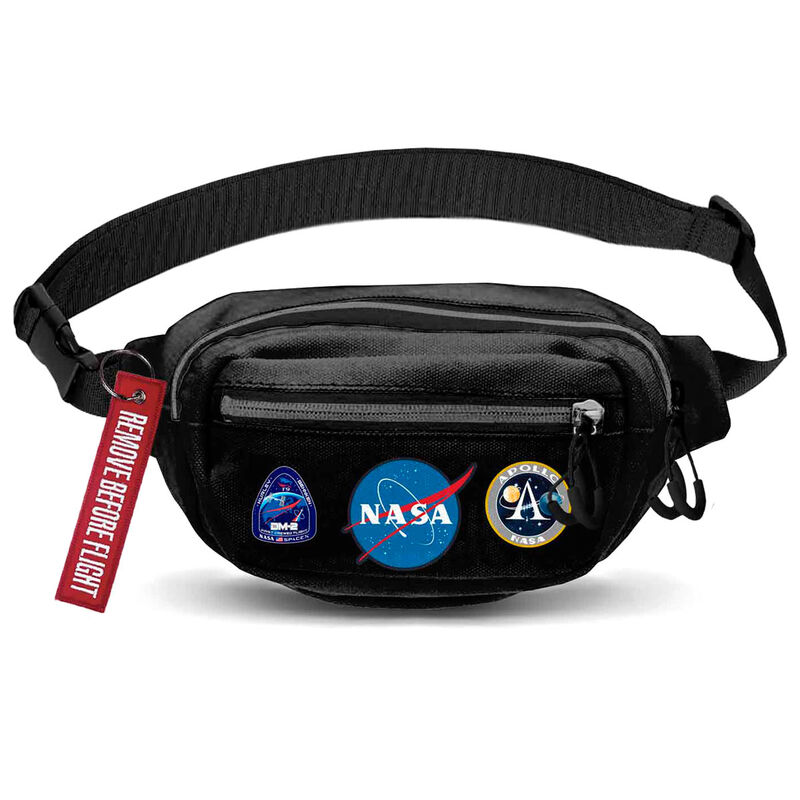 Photo du produit SAC BANANE HOUSTON NASA NOIR