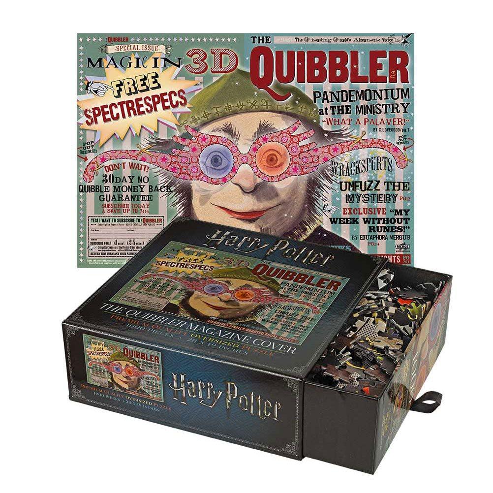 Photo du produit HARRY POTTER PUZZLE THE QUIBBLER MAGAZINE COVER