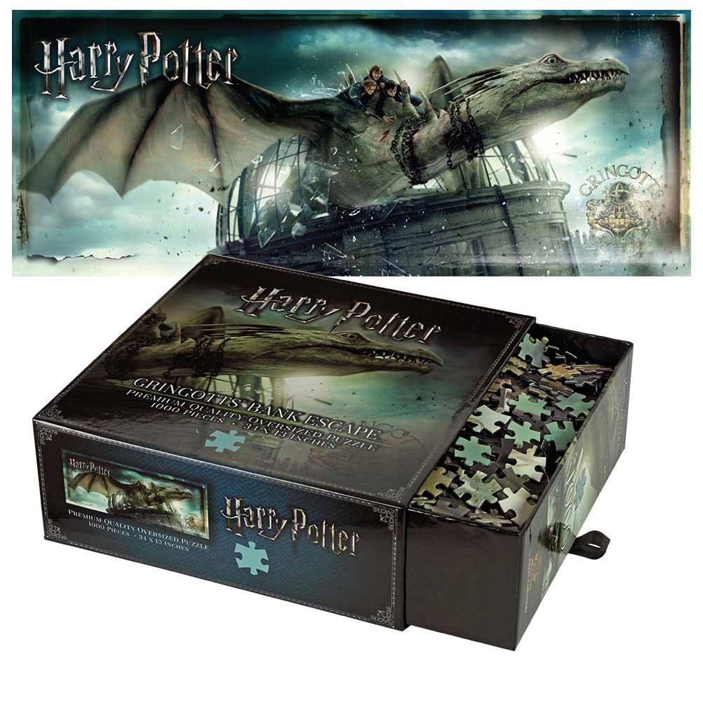 Photo du produit HARRY POTTER PUZZLE GRINGOTTS BANK ESCAPE