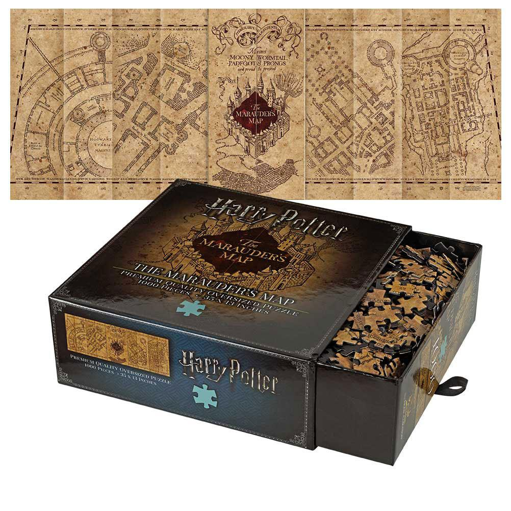 Photo du produit HARRY POTTER PUZZLE THE MARAUDER'S MAP COVER