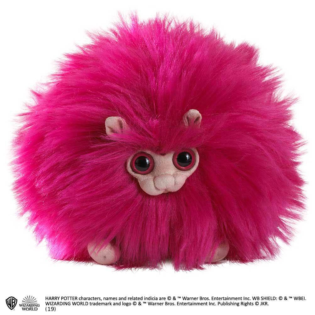 Photo du produit HARRY POTTER PELUCHE PYGMY PUFF PINK 15 CM