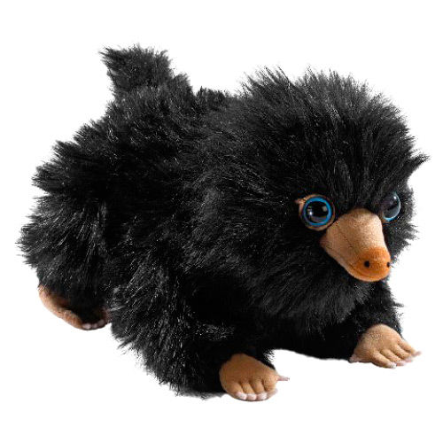 Photo du produit LES ANIMAUX FANTASTIQUES PELUCHE BLACK BABY NIFFLER 20 CM