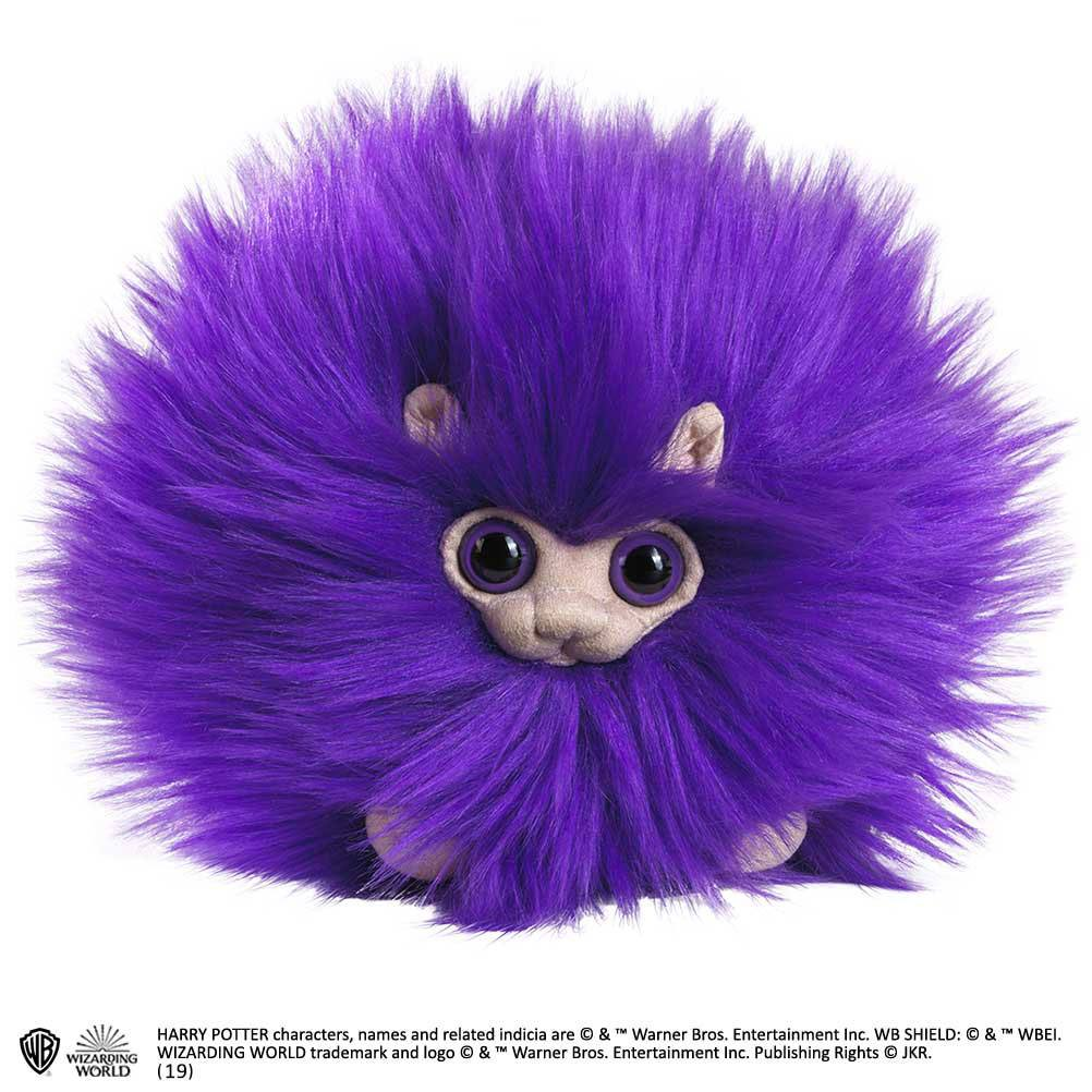 Photo du produit HARRY POTTER PELUCHE PYGMY PUFF PURPLE 15 CM