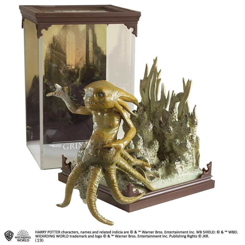 Photo du produit HARRY POTTER STATUETTE MAGICAL CREATURES GRINDYLOW 13 CM