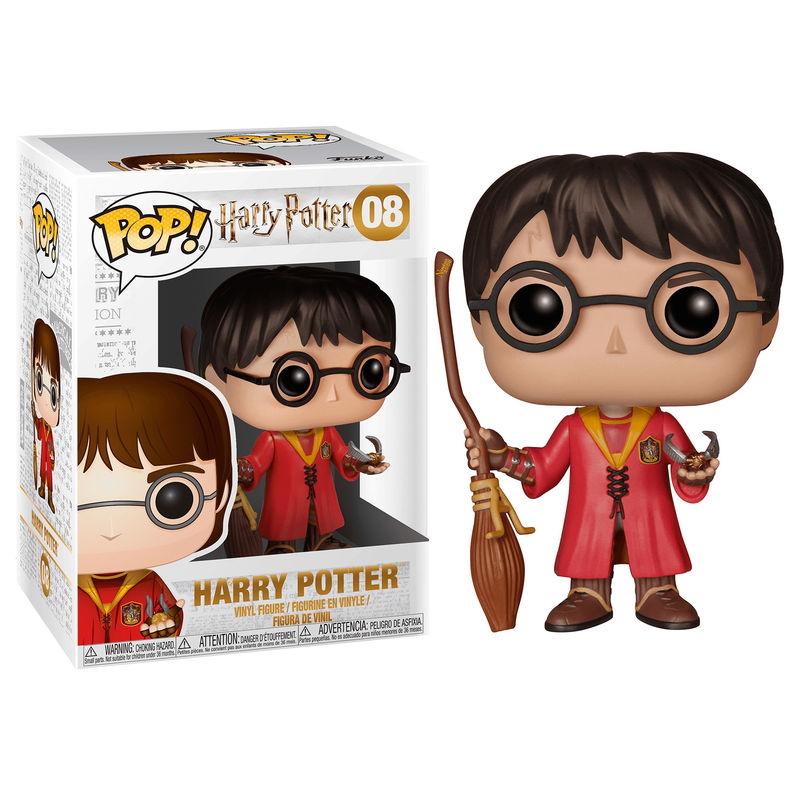 Photo du produit HARRY POTTER FUNKO POP! HARRY POTTER QUIDDITCH 9 CM