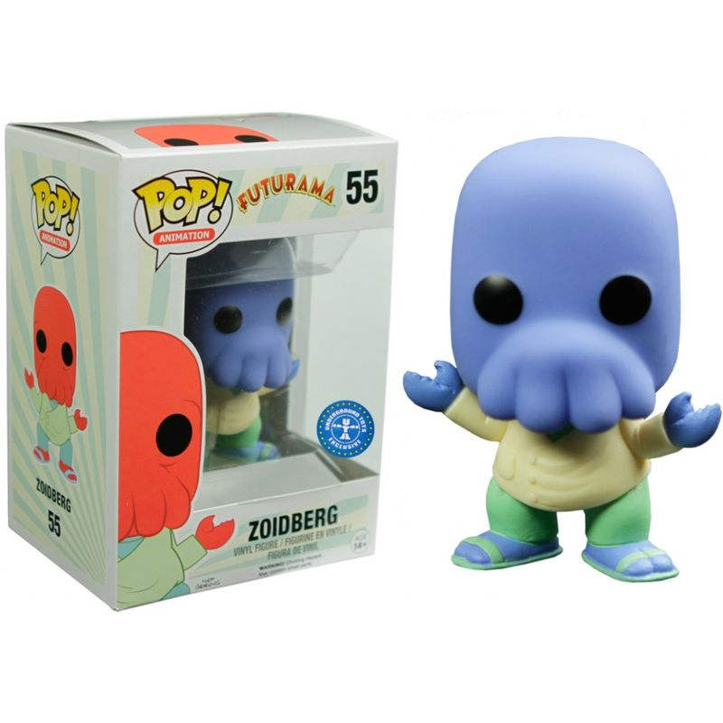 Photo du produit FIGURINE POP FUTURAMA ALTERNATE UNIVERSE BLUE ZOIDBERG EXCLUSIVE
