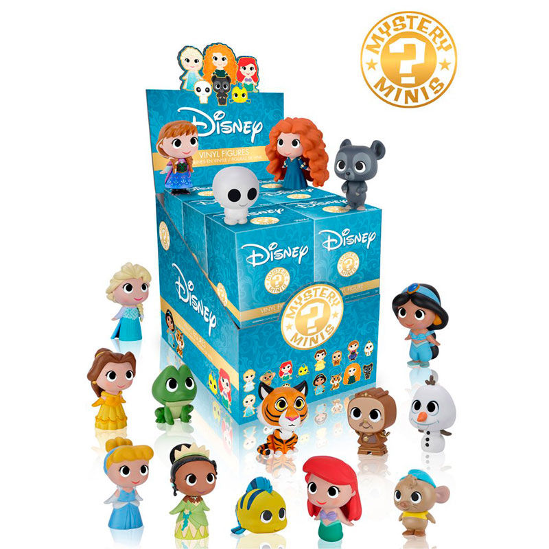Photo du produit 12 MYSTERY MINI PRINCESSES DISNEY + PRESENTOIR