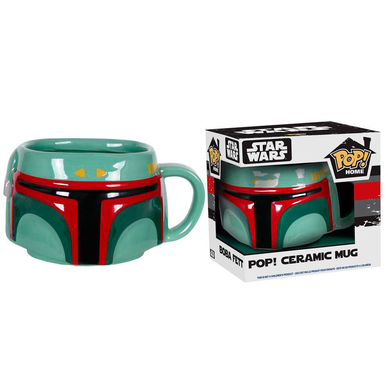 Photo du produit STAR WARS POP! HOMEWARES MUG BOBA FETT