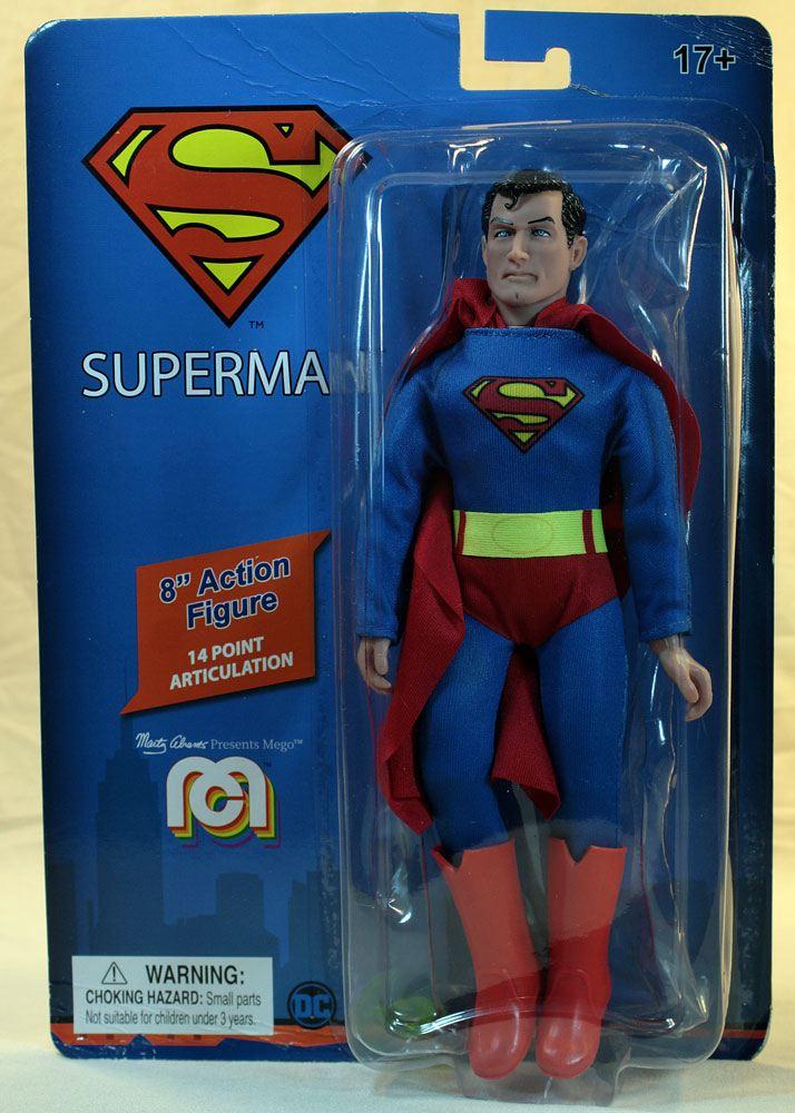 Photo du produit DC COMICS FIGURINE RETRO SUPERMAN 20 CM