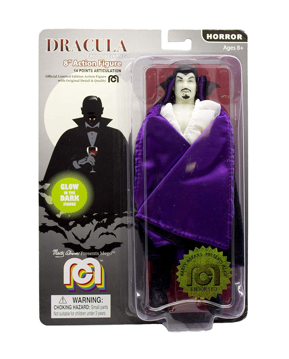 Photo du produit DRACULA FIGURINE MEGO DRACULA (GLOW IN THE DARK) 20 CM