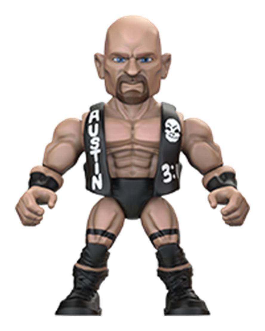 Photo du produit WWE FIGURINE ACTION VINYLS 8 CM STONE COLD STEVE AUSTIN