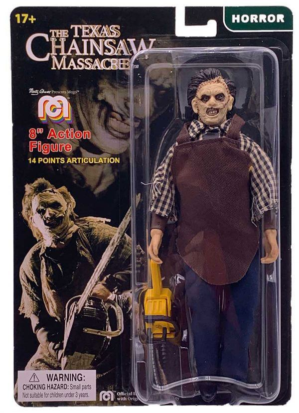Photo du produit MASSACRE À LA TRONÇONNEUSE FIGURINE LEATHERFACE 20 CM