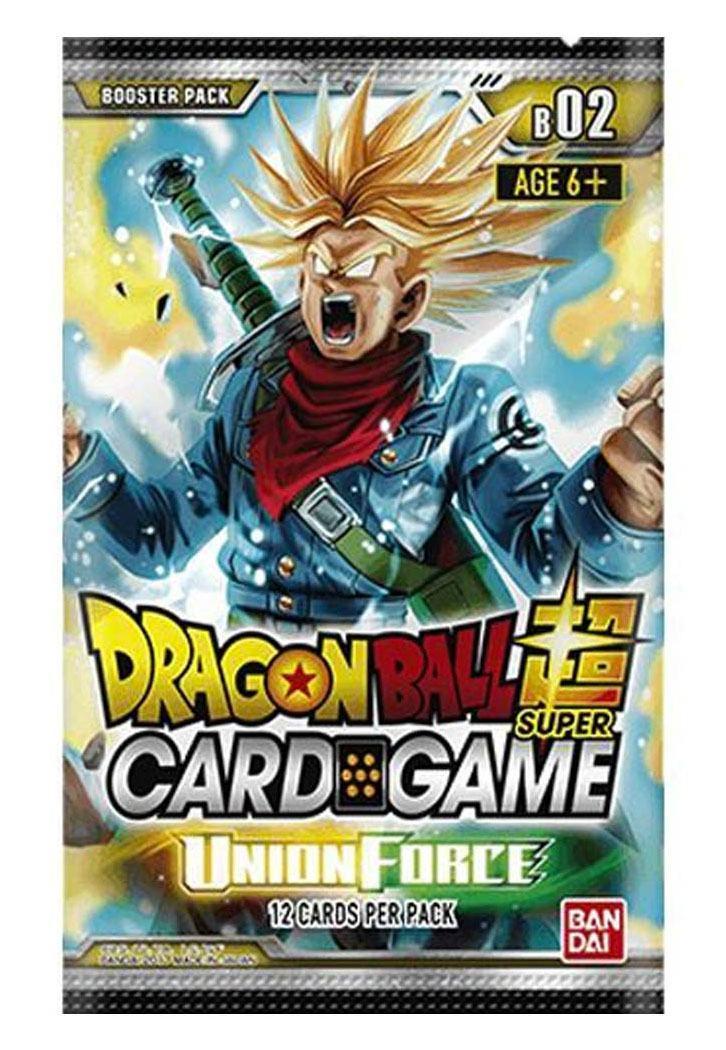 Photo du produit DRAGON BALL SUPER CARD GAME SEASON 2 24 BOOSTERS + PRESENTOIR BOOSTERS UNION FORCE