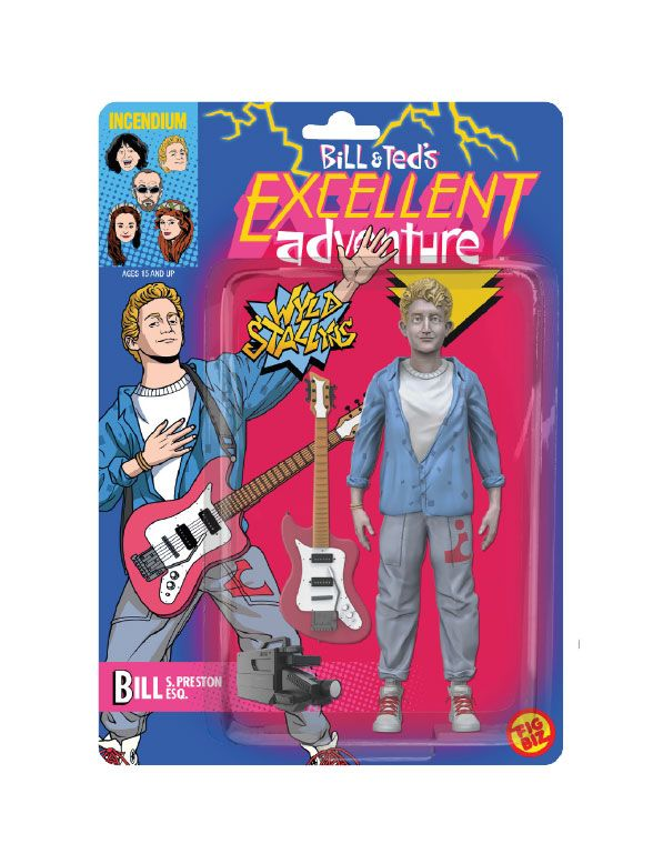 Photo du produit L'EXCELLENTE AVENTURE DE BILL ET TED FIGURINE FIGBIZ BILL S. PRESTON, ESQ. 13 CM