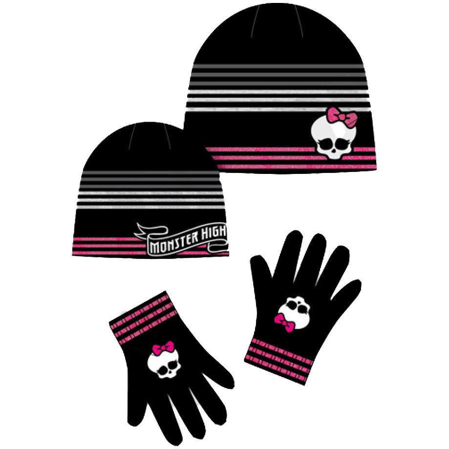 Photo du produit Ensemble Monster High bonnet et gants