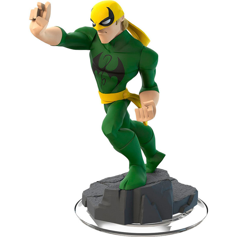 Photo du produit FIGURINE IRON FIST MARVEL DISNEY INFINITY 2.0 10CM