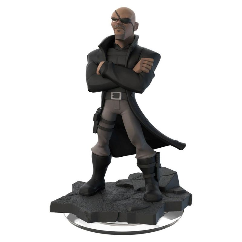 Photo du produit FIGURINE NICK FURY MARVEL DISNEY INFINITY 2.0 10CM