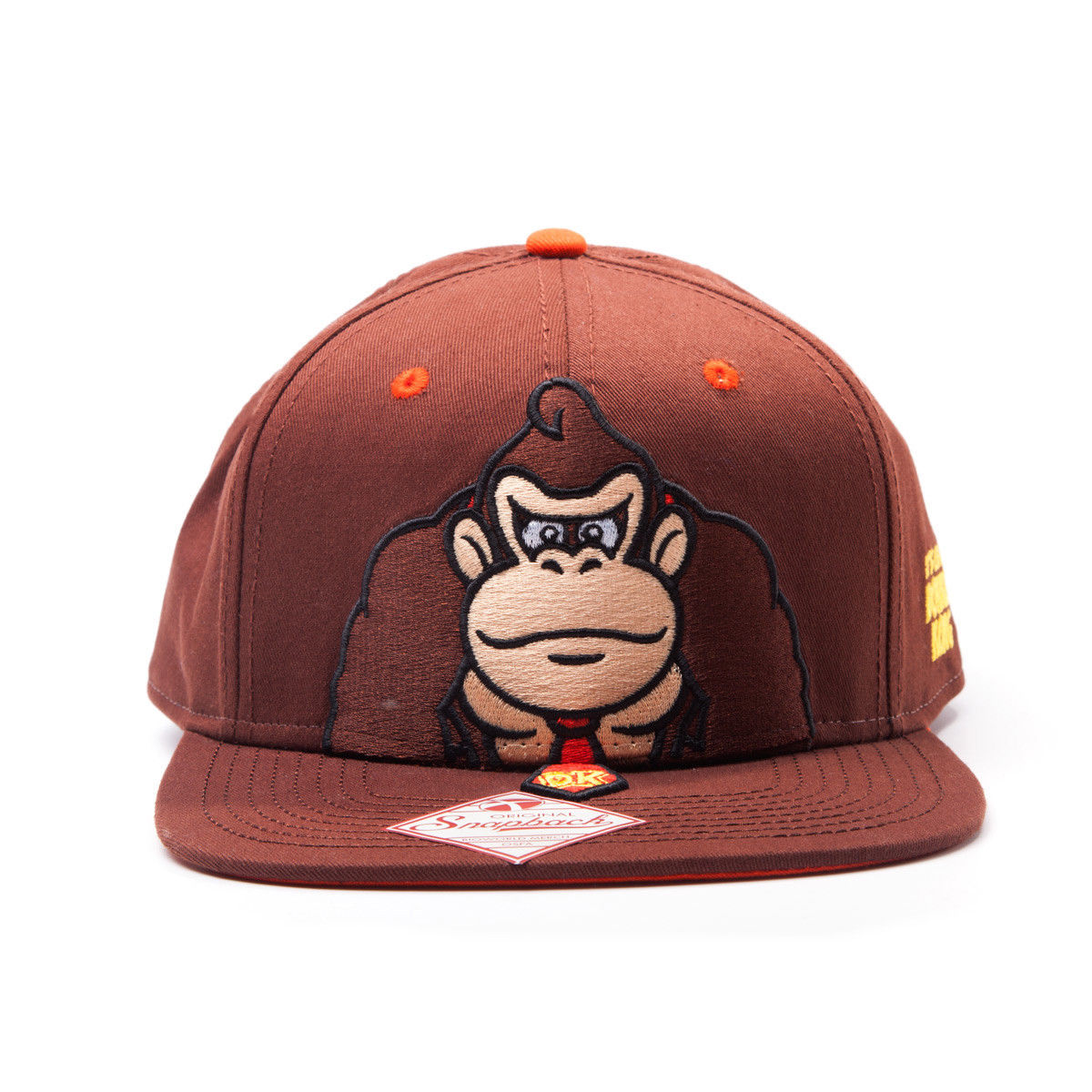 Photo du produit NINTENDO CASQUETTE HIP HOP SNAP BACK DONKEY KONG