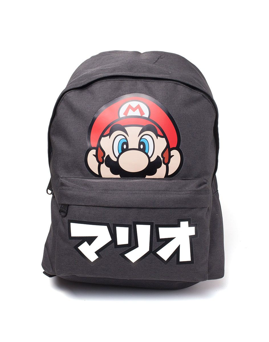 Photo du produit NINTENDO SAC À DOS SUPER MARIO JAPANESE TEXT