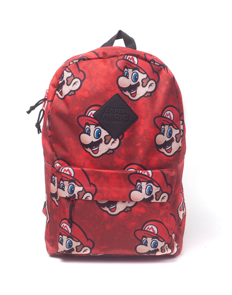 Photo du produit NINTENDO SAC À DOS SUPER MARIO SUBLIMATION