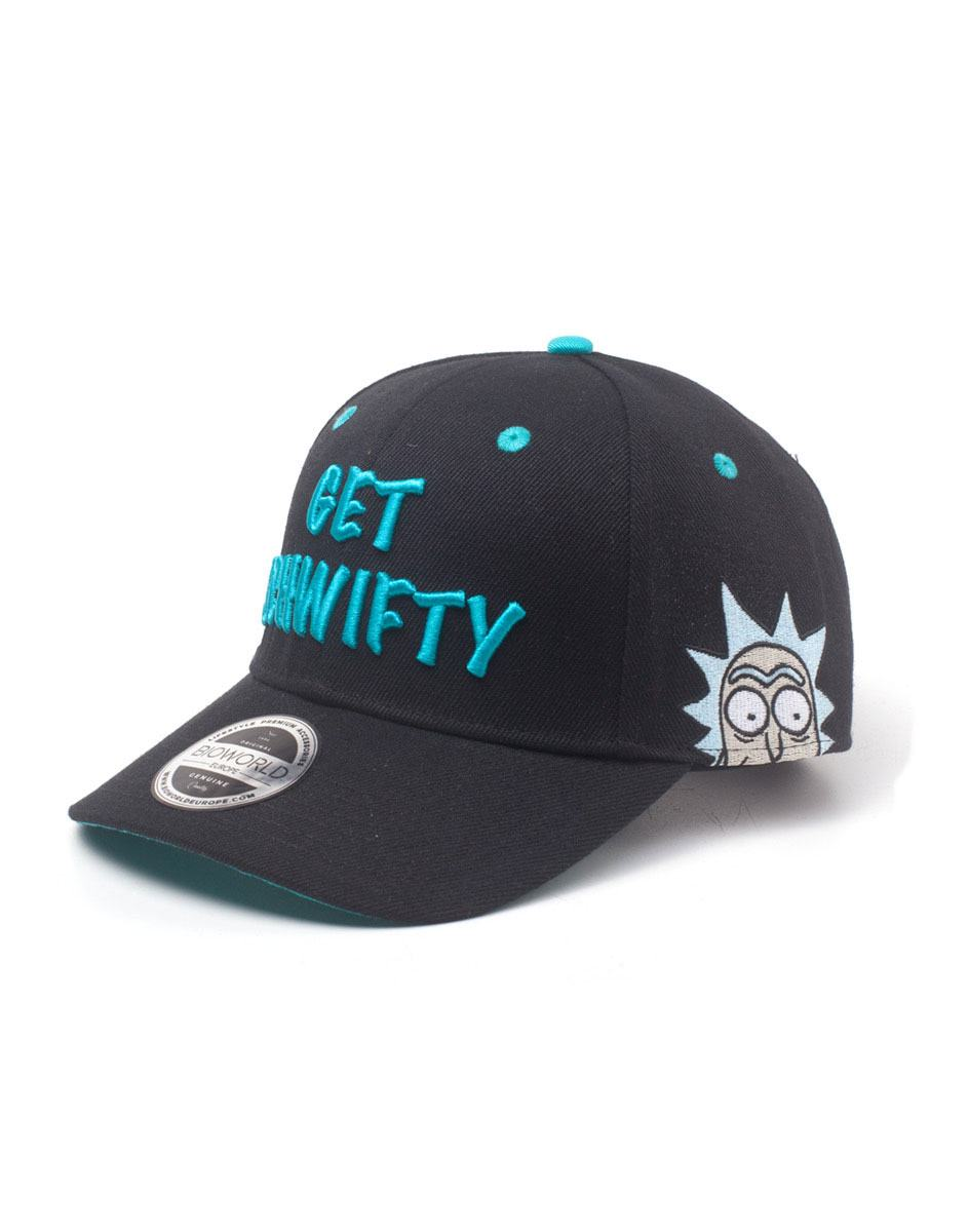 Photo du produit RICK ET MORTY CASQUETTE BASEBALL GET SCHWIFTY
