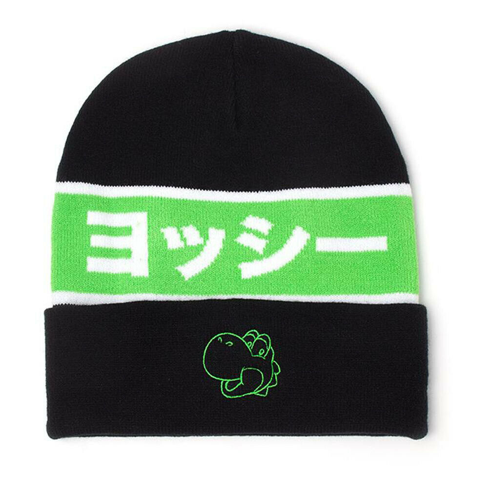 Photo du produit NINTENDO BONNET SUPER MARIO YOSHI JAPANESE OUTLINE