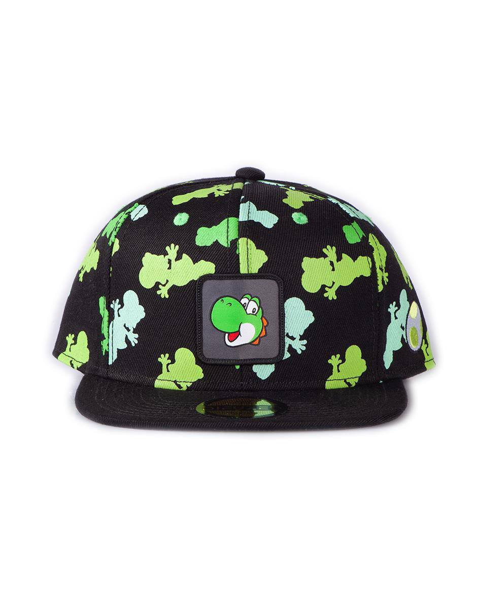Photo du produit NINTENDO CASQUETTE SNAPBACK YOSHI ALL OVER PRINT