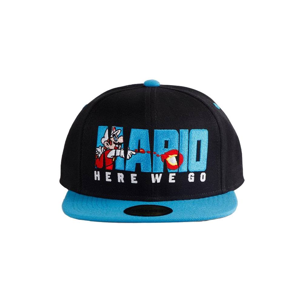 Photo du produit NINTENDO CASQUETTE SNAPBACK HERE WE GO