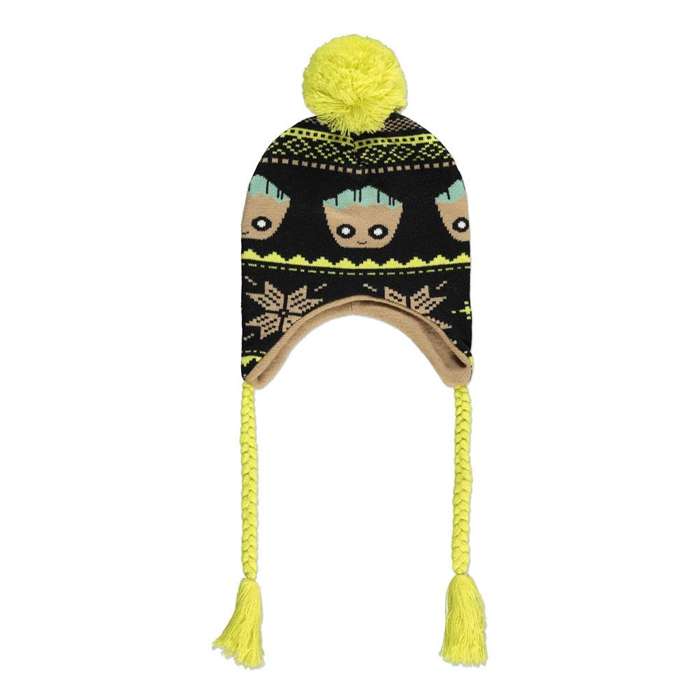 Photo du produit GUARDIANS OF THE GALAXY BONNET DE SKI GROOT XMAS LAPLANDER