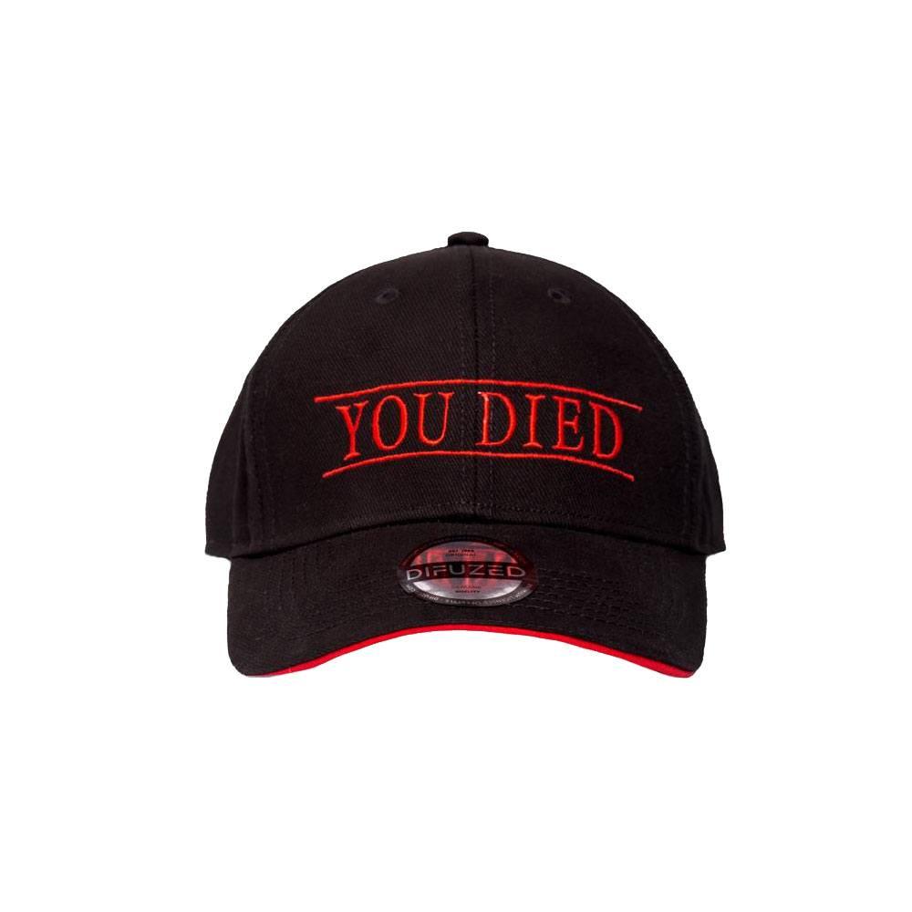 Photo du produit Demon's Souls casquette hip hop You Died
