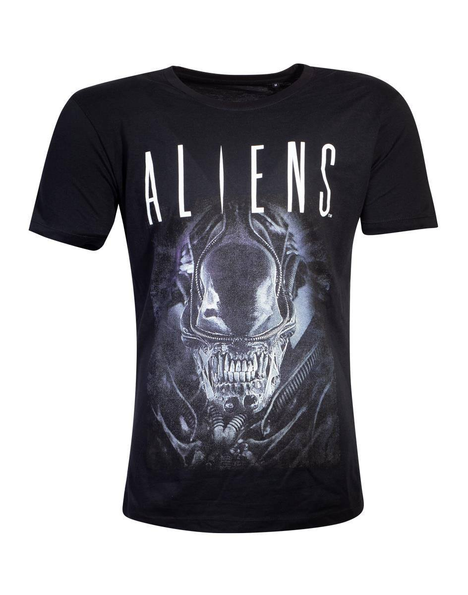 Photo du produit ALIENS T-SHIRT SAY CHEESE GRAPHIC