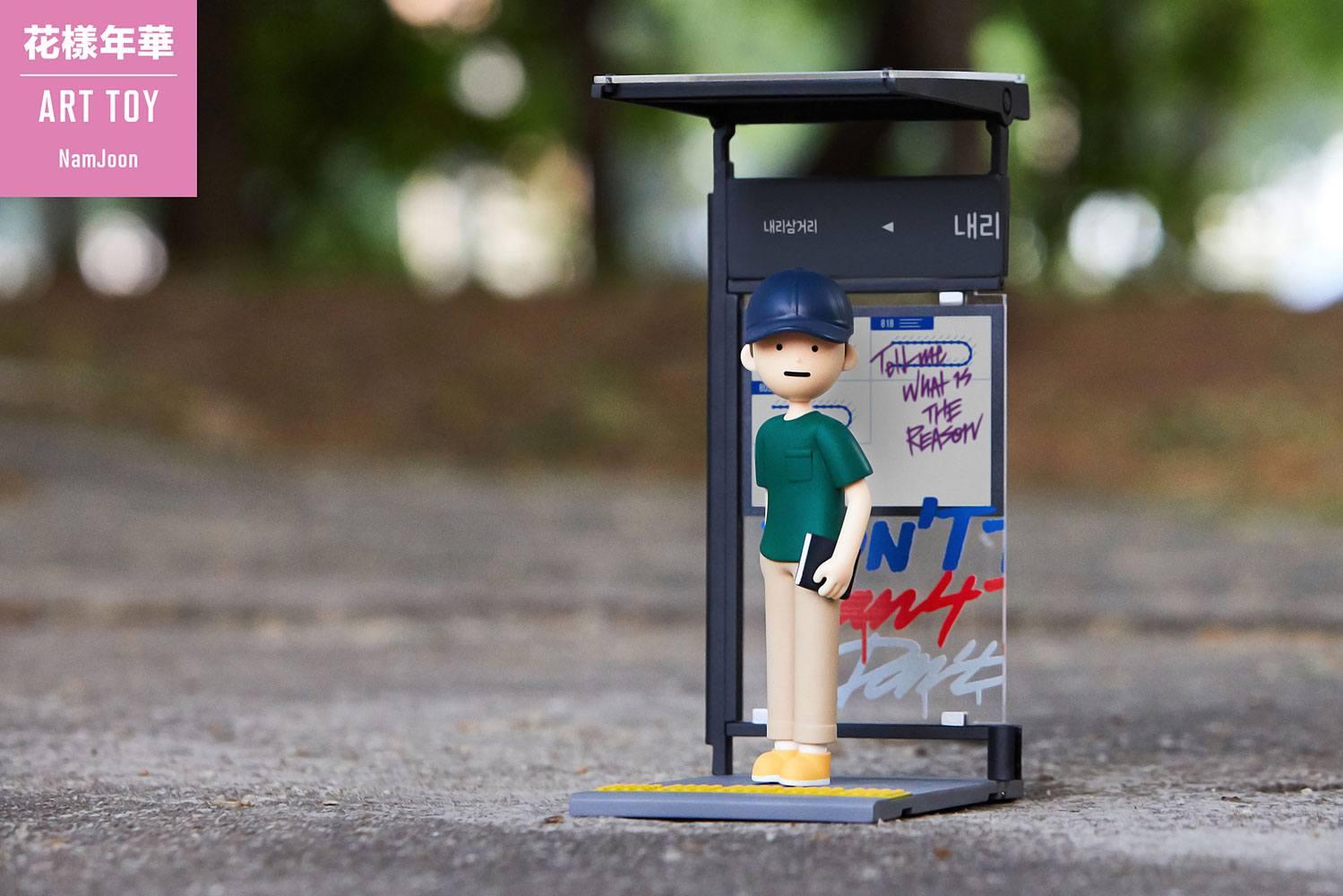 Photo du produit BTS STATUETTE PVC ART TOY RM (KIM NAMJOON) 15 CM