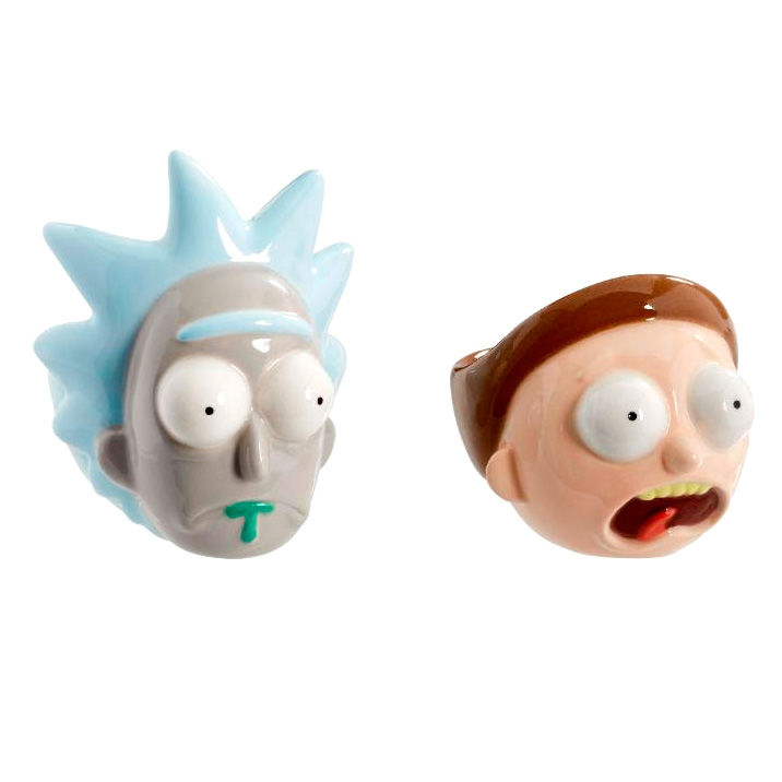 Photo du produit COFFRET 2 COQUETIERS RICK & MORTY