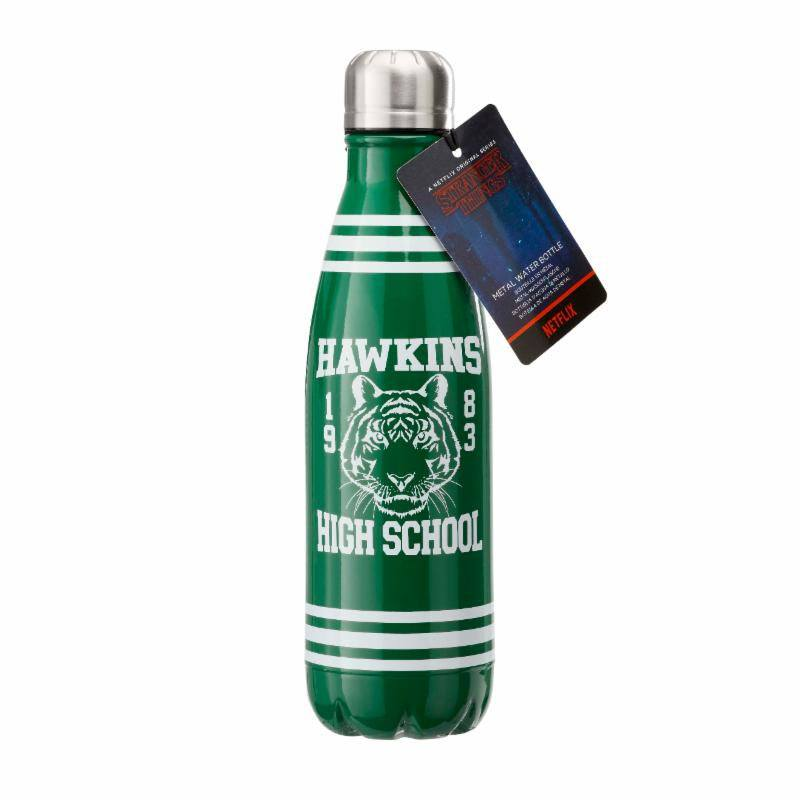 Photo du produit STRANGER THINGS BOUTEILLE METAL HAWKINS HIGH SCHOOL