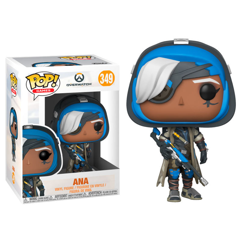 Photo du produit FUNKO POP OVERWATCH ANA SERIES 4
