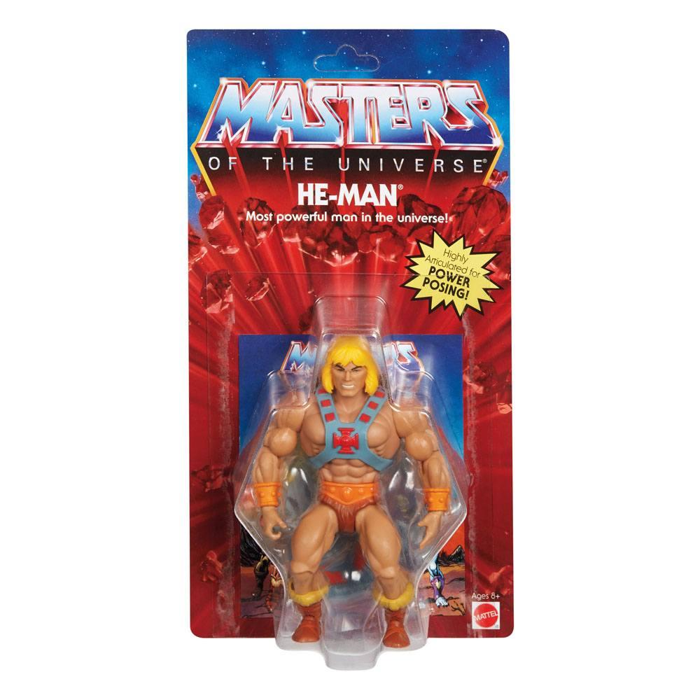 Photo du produit Masters of the Universe Origins 2020 figurine He-Man 14 cm