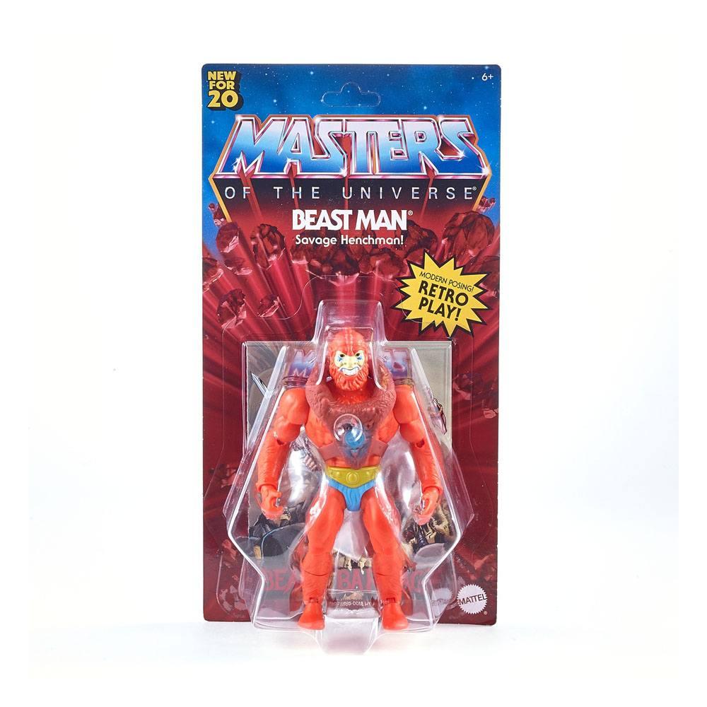 Photo du produit Masters of the Universe Origins 2020 figurine Beast Man 14 cm