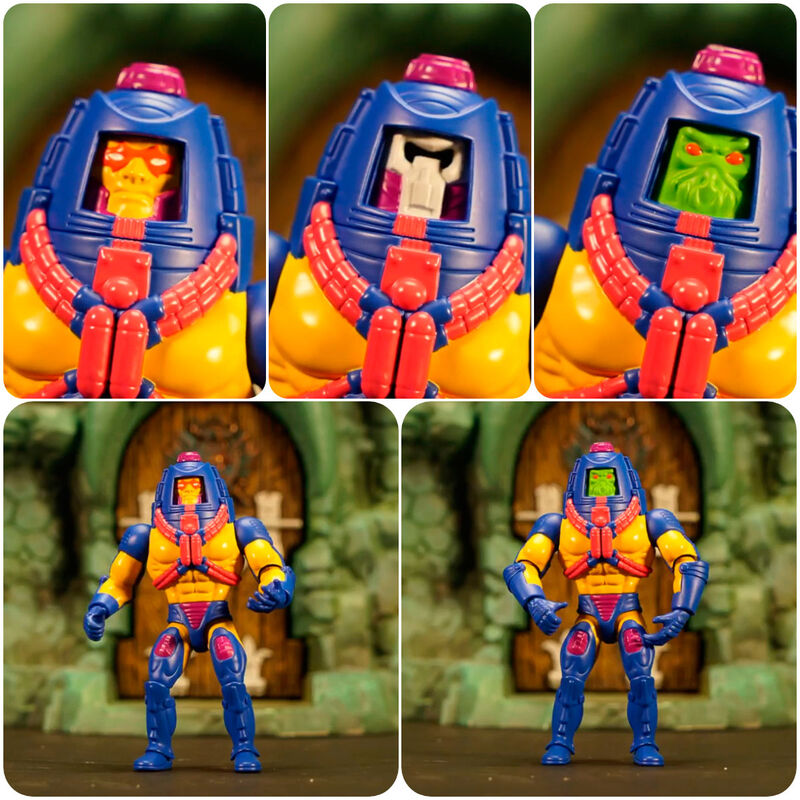 Photo du produit Masters of the Universe Origins 2020 figurine Man-E-Faces 14 cm