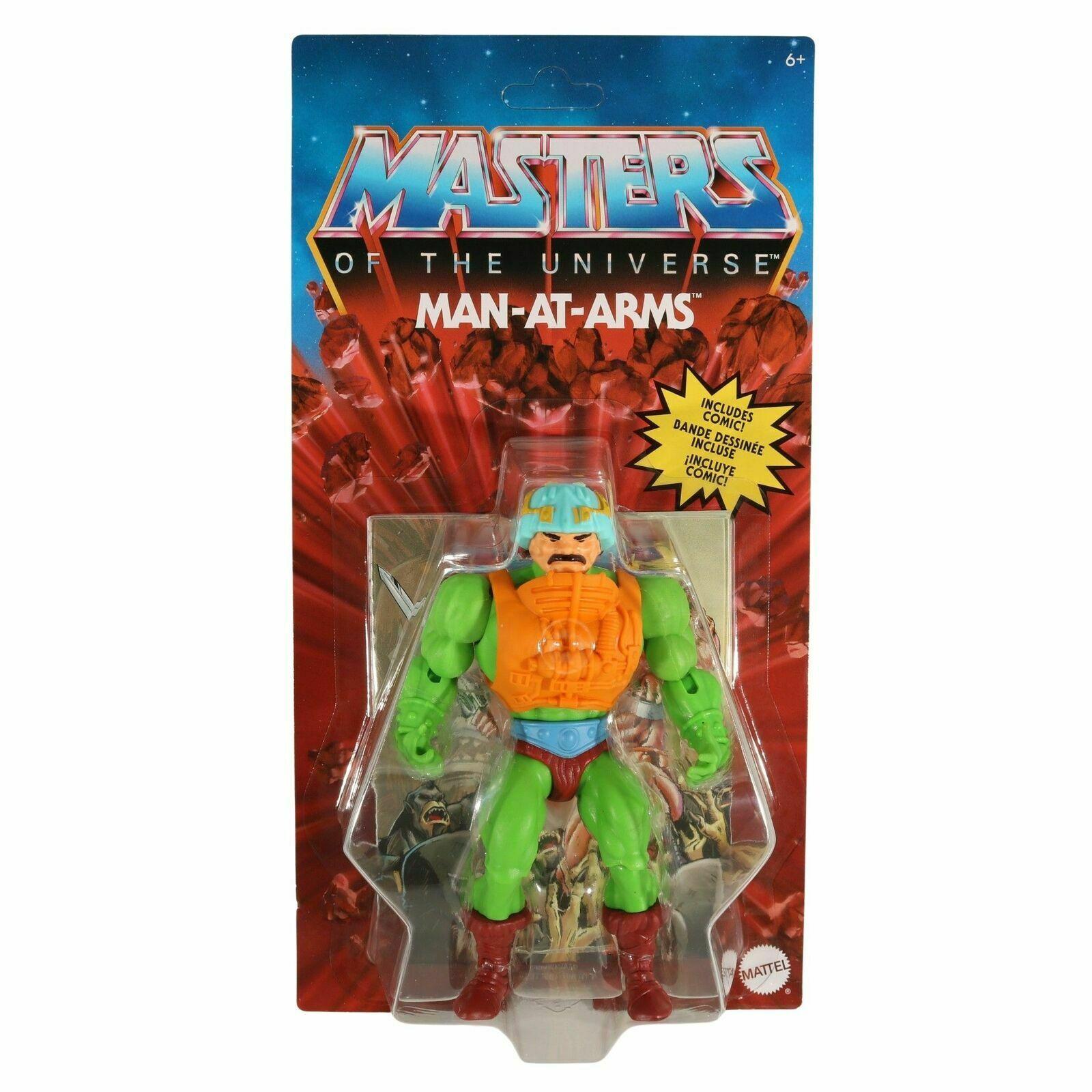 Photo du produit Masters of the Universe Origins 2020 figurine Man-At-Arms 14 cm