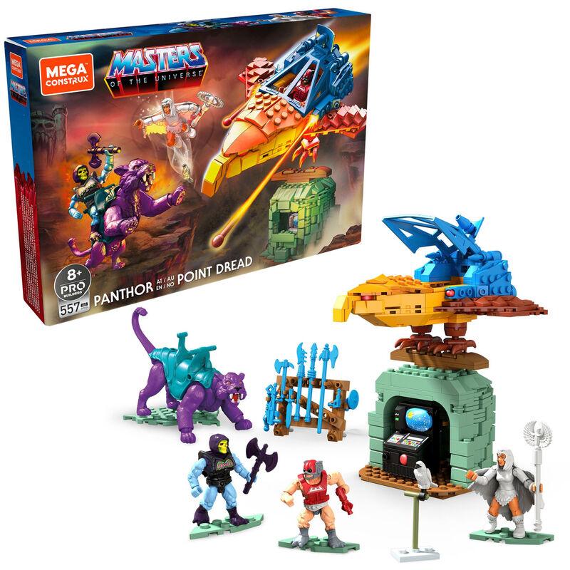 Photo du produit Construccion Mega Contrux Panthor at Point Dread Masters of the Universe Origins